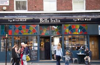 Bella Italia on Tavistock Street