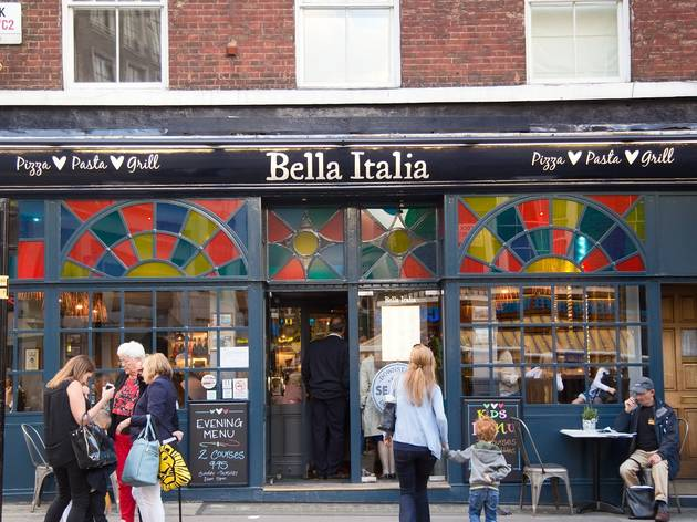 Bella Italia on Tavistock Street