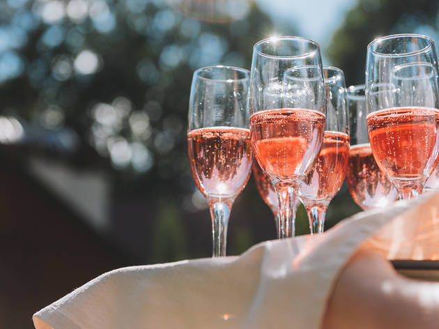 Cin cin! Pink prosecco is now officially a thing