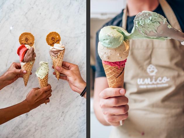 Os gelados da nova gelataria de Lisboa são Unicos