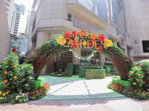 The Secret Garden at Times Square