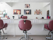 Interior of a beauty salon in Sydney
