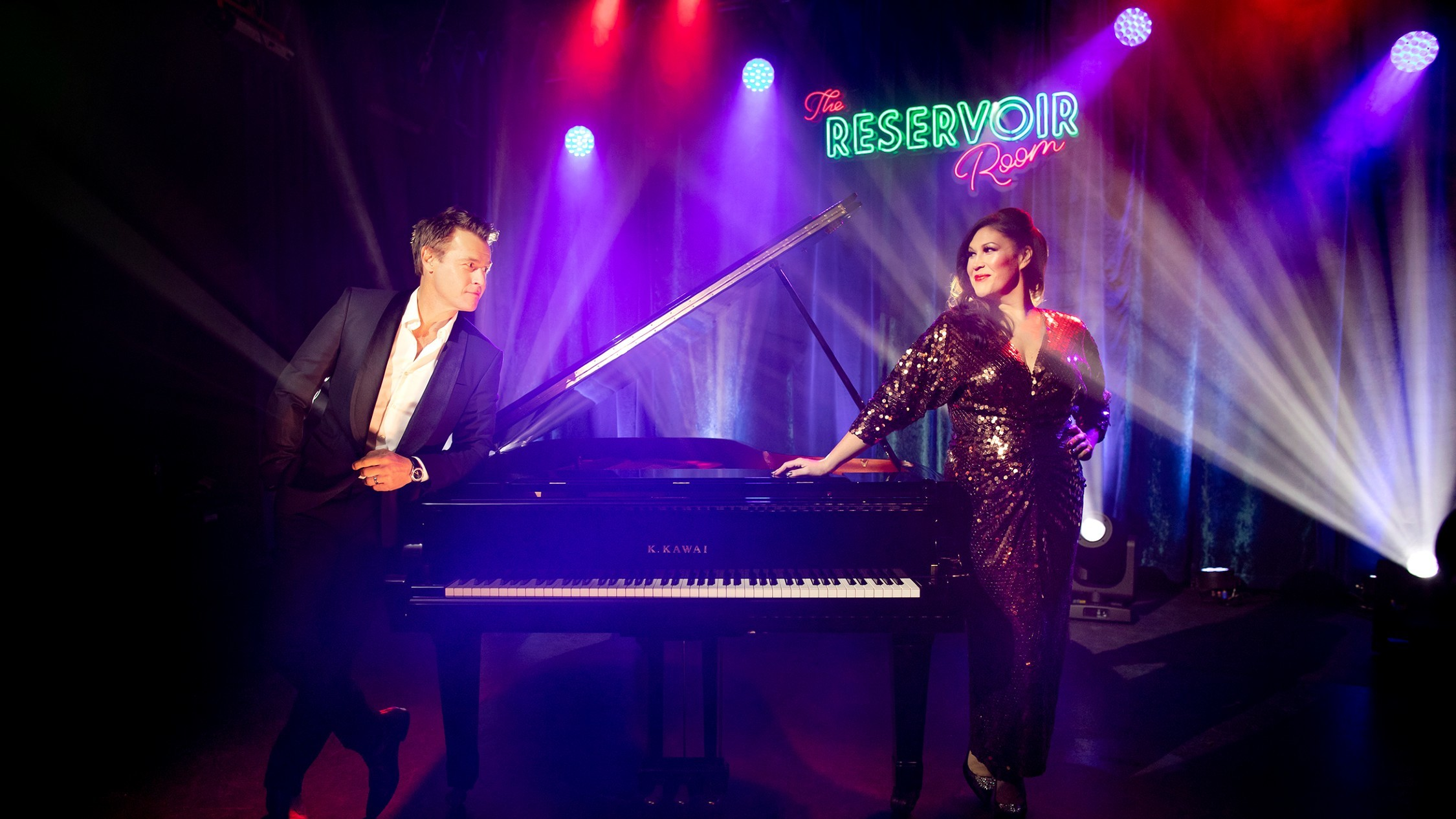 Catherine Alcorn and Rodger Corser host stars at the Reservoir Room