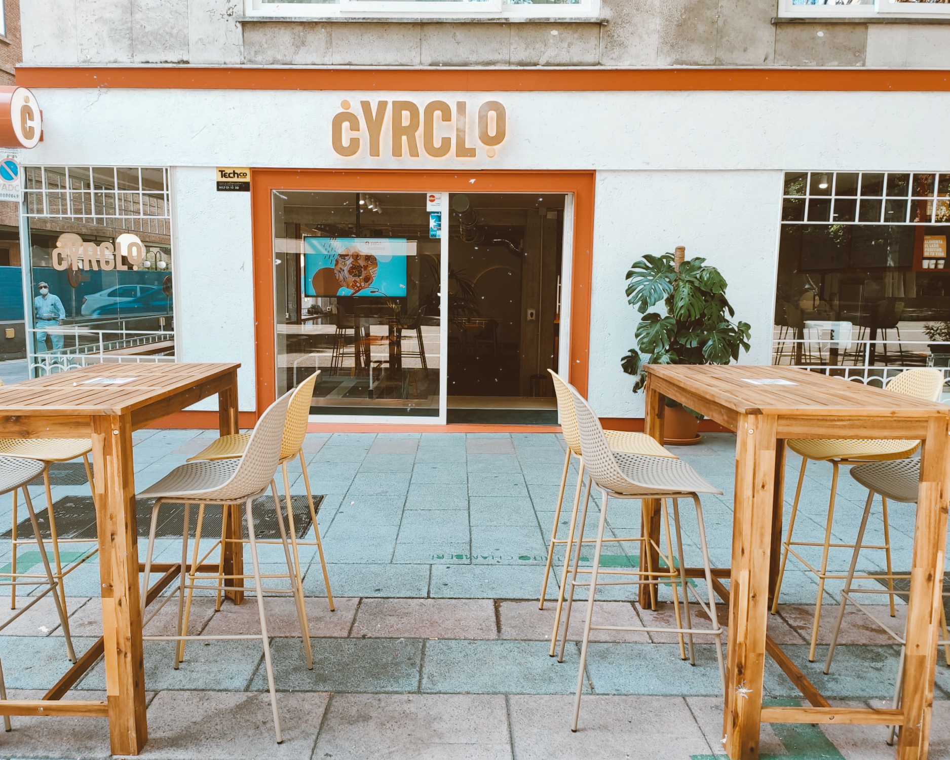 Terraza de Cyrclo