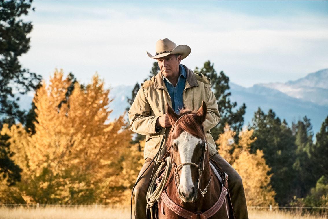 "Está reaberto ""Yellowstone"", o rancho danado de Kevin Costner"