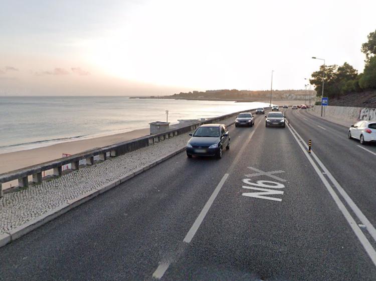 Avenida Marginal, de Cascais até Belém