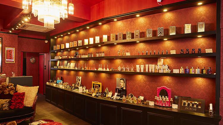 Parfumerie Trésor interior