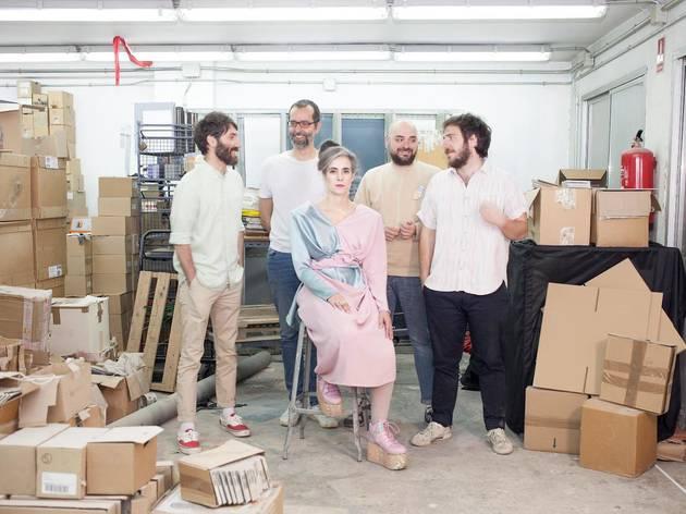 Foto promocional de Los Punsetes