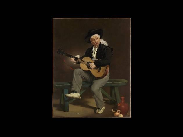 Arte, Pintura, O Cantor Espanhol, Édouard Manet