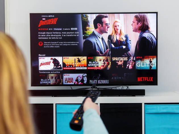 Netflix pantalla de inicio