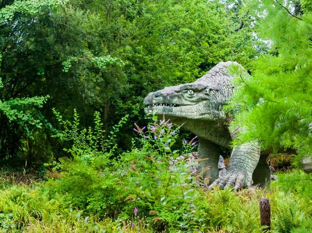 Megalosaur, Crystal Palace Park