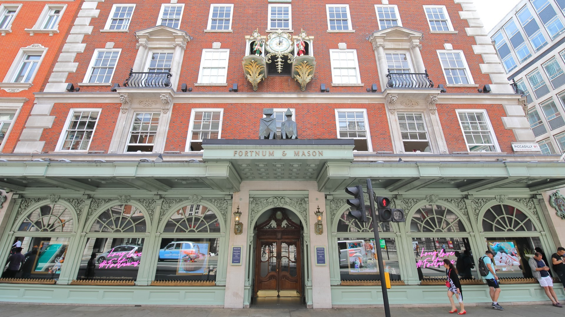 Fortnum & Mason's fancy food hall has reopened