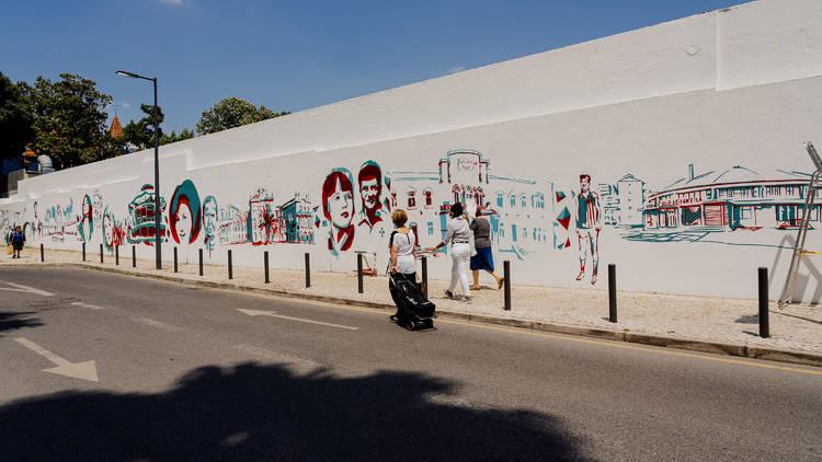 Mural Benfica