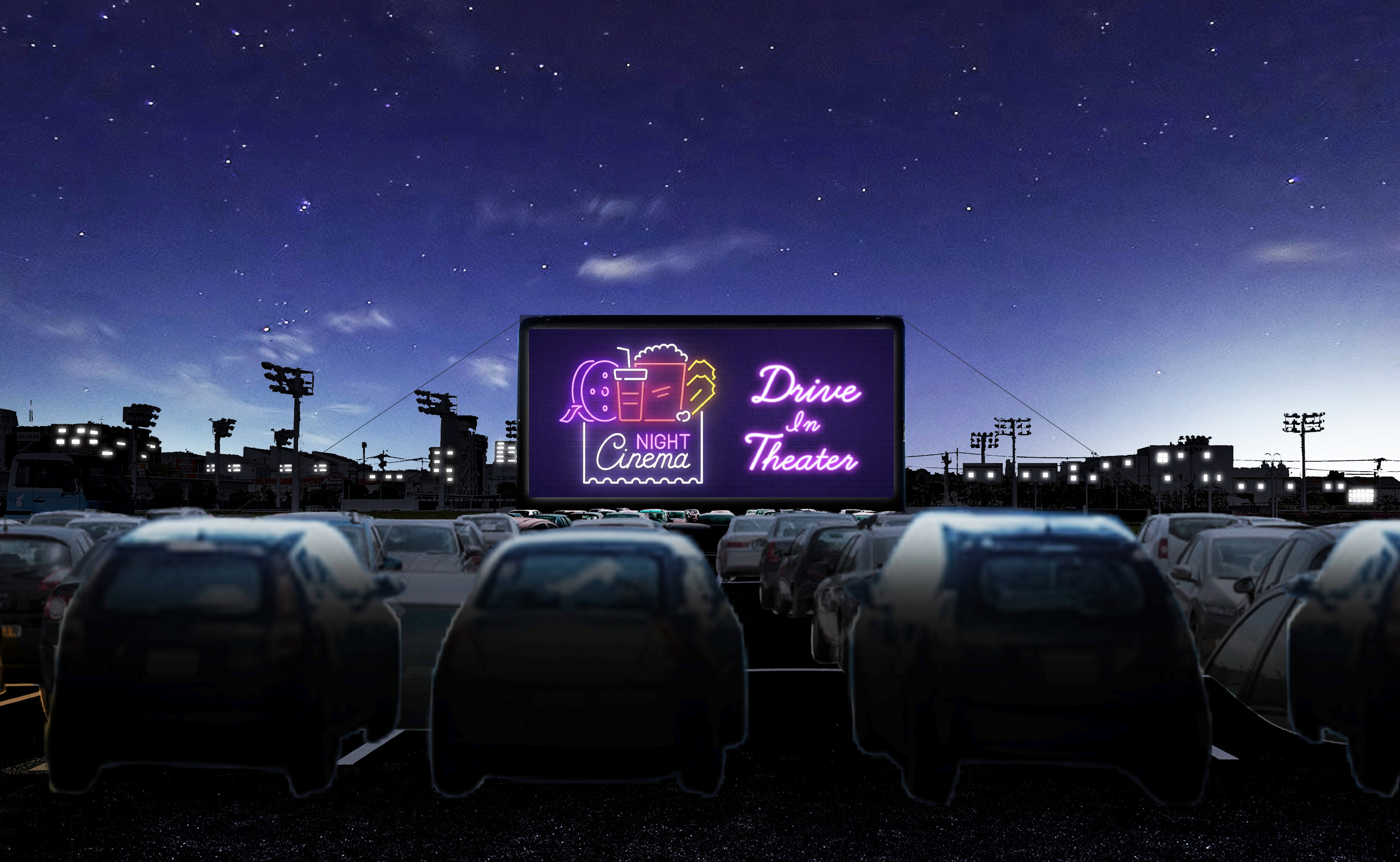 CINEMATHEQUE -Drive-in Theater