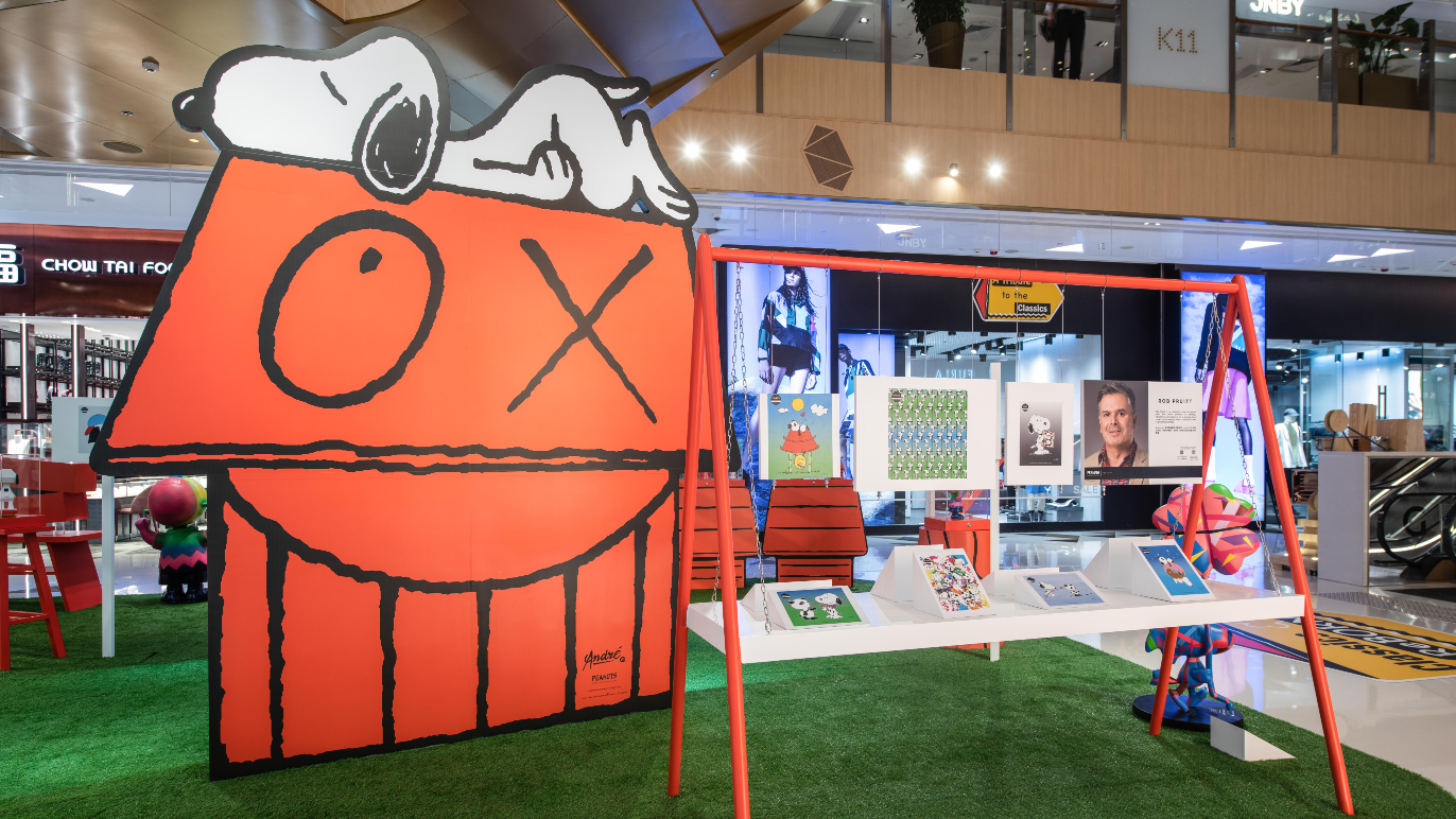K11 Classics Reborn: Peanuts Global Artist Collective exhibition and pop-up store