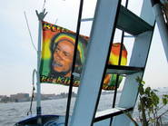 Bob Marley boat