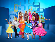 Cast of Hairspray Live!, 2016, screening on The Shows Must Go On YouTube channel