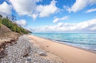 beach, michigan, day trip, travel, shutterstock