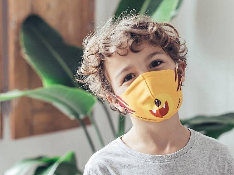 Onde comprar máscaras certificadas para crianças
