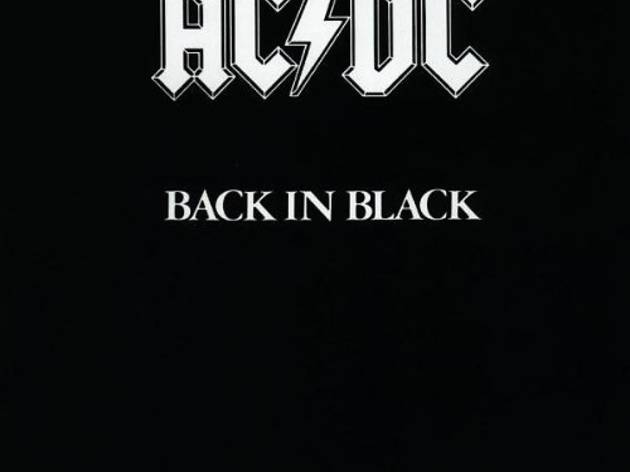 'Back in black', AC / DC