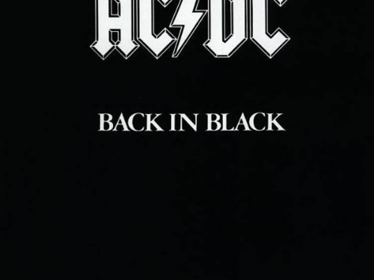 'Back in black', AC/DC