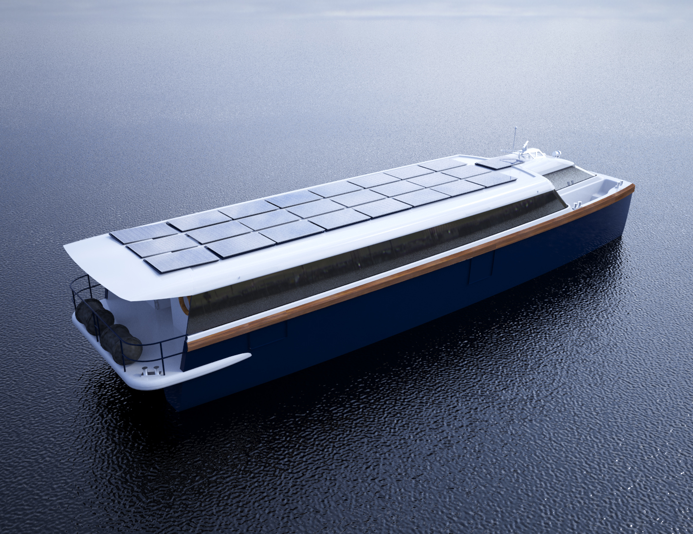 Visual of the Marservis cannabis boat