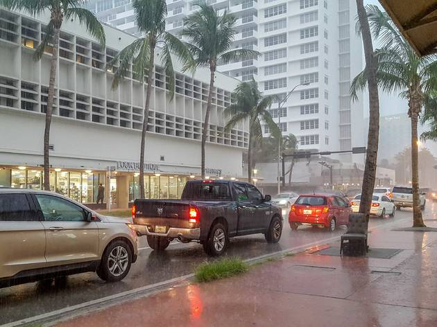 Miami broke a 115-year-old rain record—and we have the videos to prove it