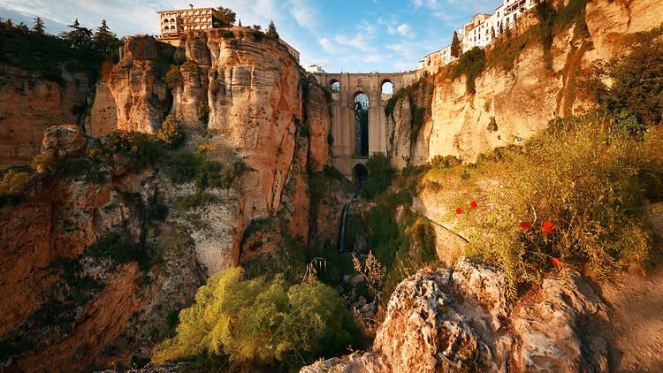 Bridge in Ronda, Andalucia, Spain