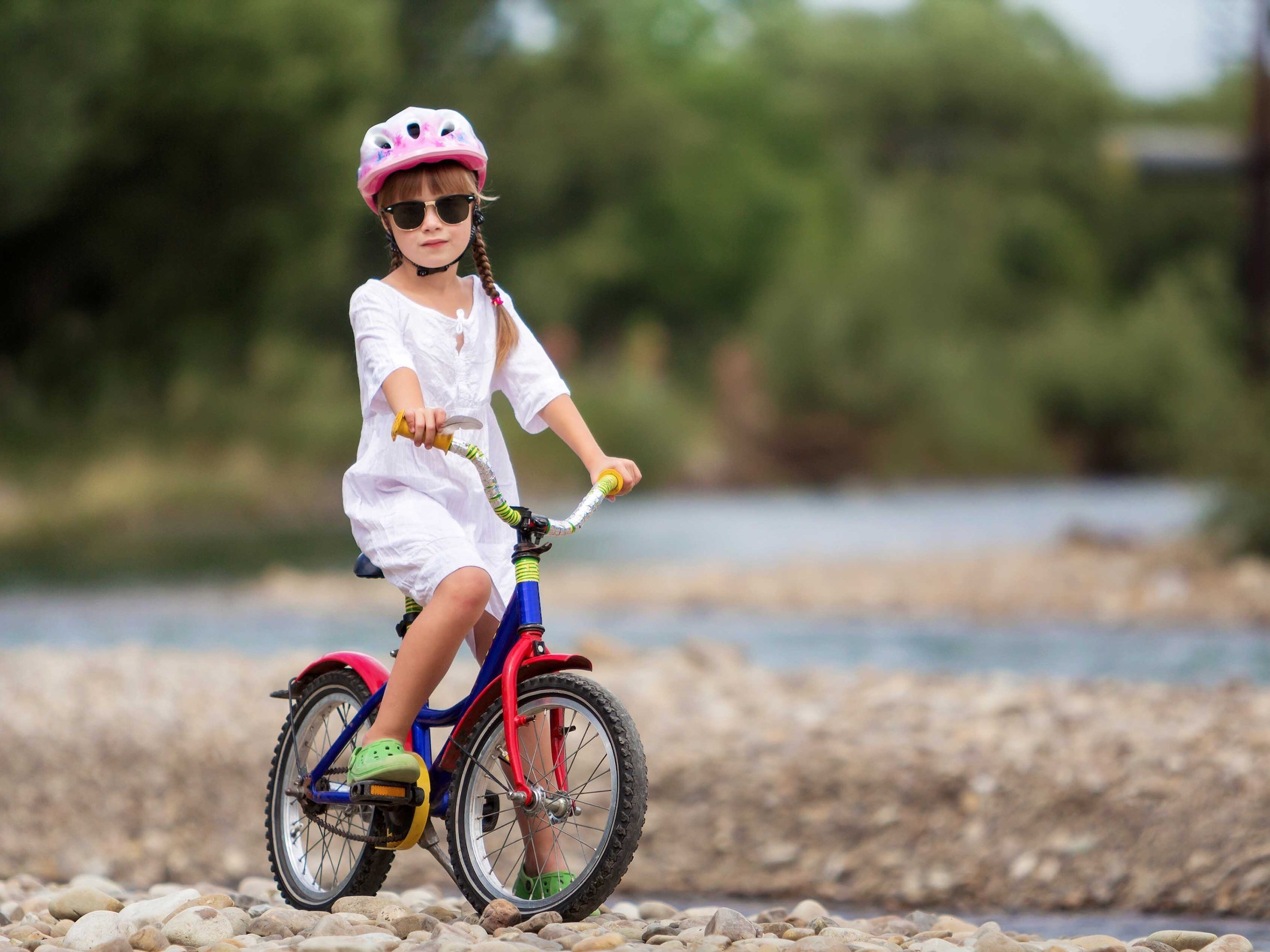 NYC bike trails for families
