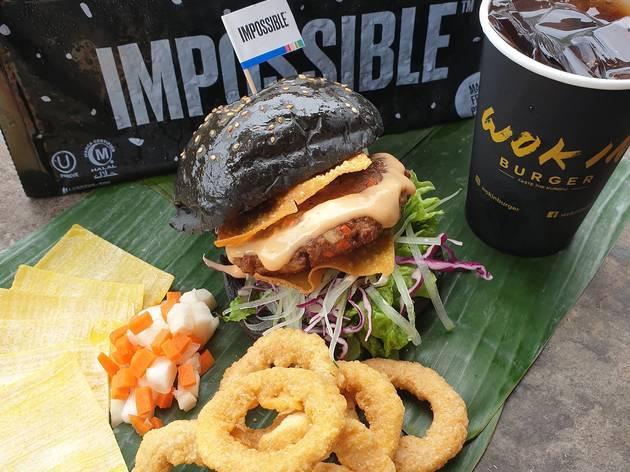 Wok In Burger Impossible Wanton Burger