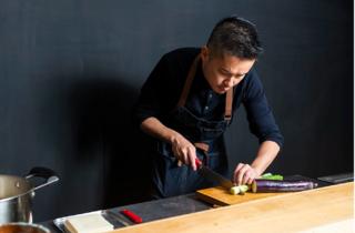 Kintaro Lab, udon, prepare