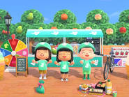 Deliveroo Animal Crossing