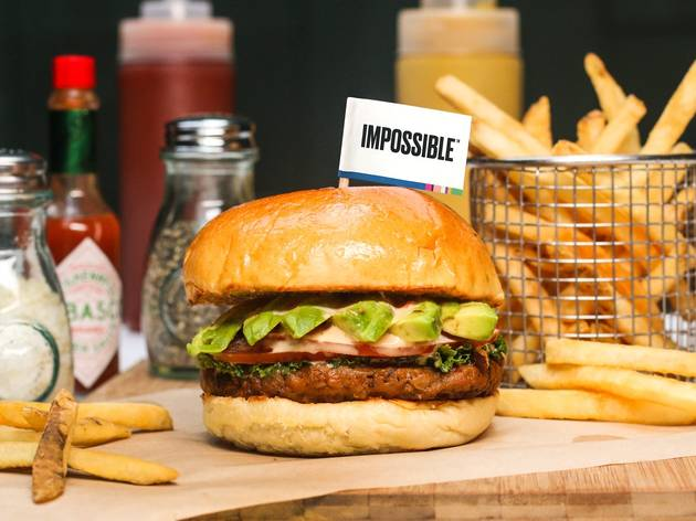 Celebrate International Burger Day with Impossible burger deals around town