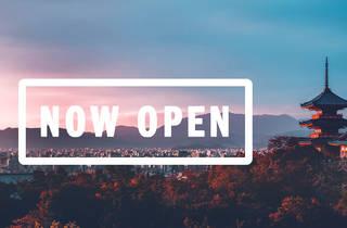 Japan now open