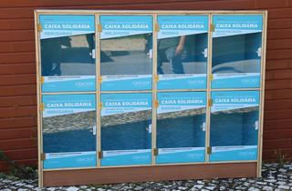 Caixas solidárias Cascais