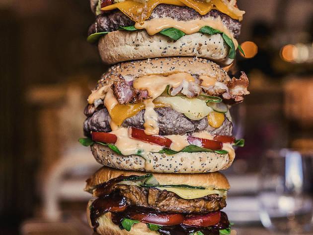 Las mejores hamburguesas a domicilio