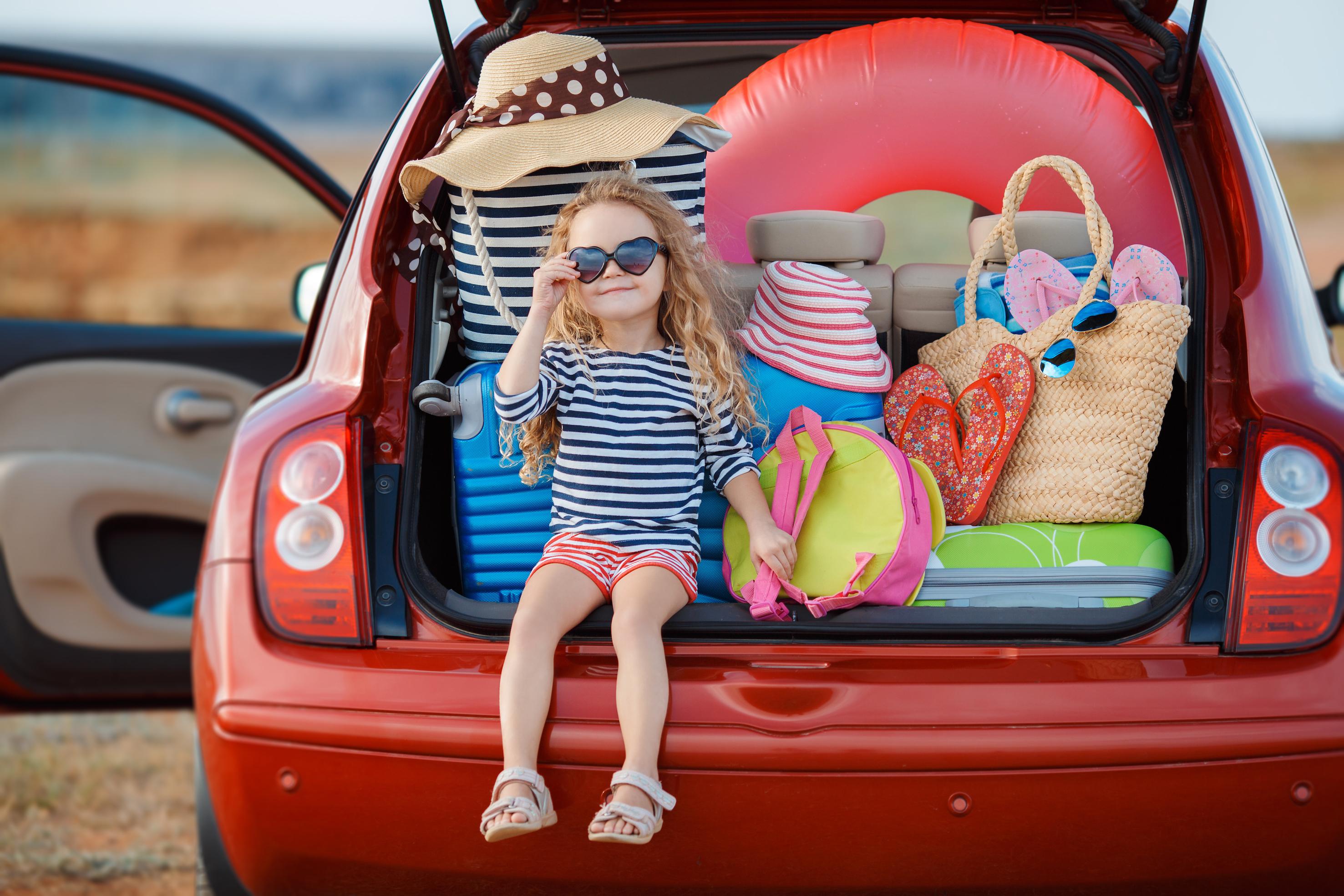 Viajar en coche, vacaciones de verano