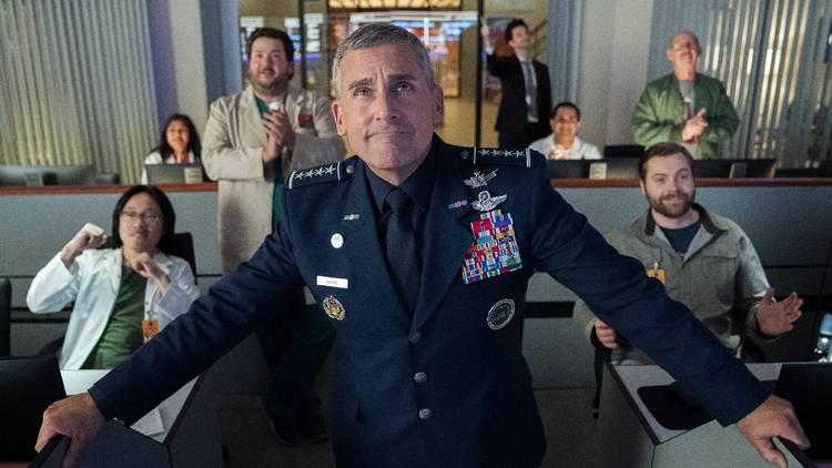 Televisão, Série,  Space Force, Steve Carell, Netflix