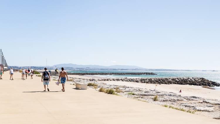 Praia, Areal, Costa da Caparica