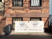 New York City, street art, Sara Erenthal, Brooklyn, Flatbush, Prospect Lefferts Gardens, Crown Heights
