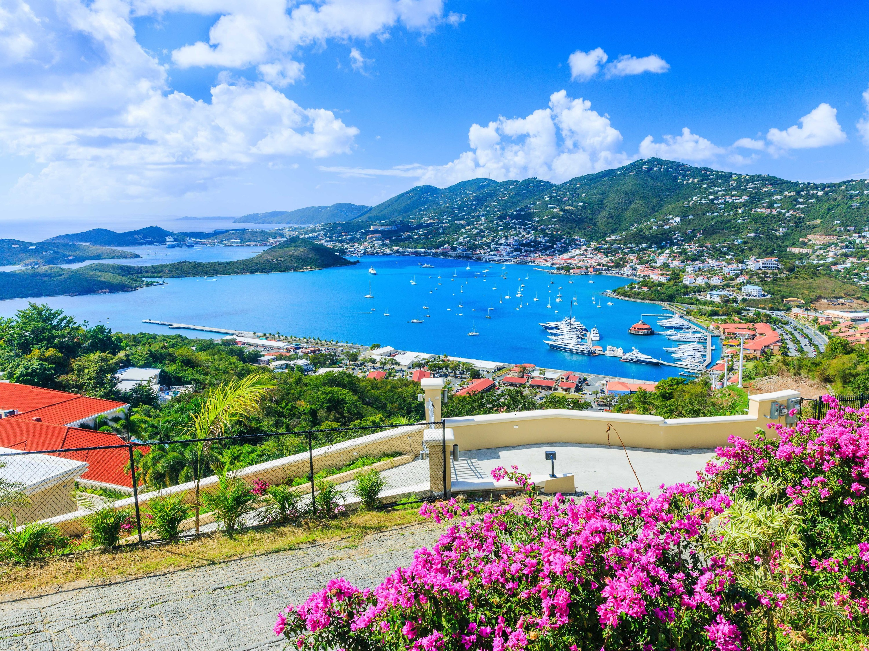 The US Virgin Islands will reopen to tourists on June 1