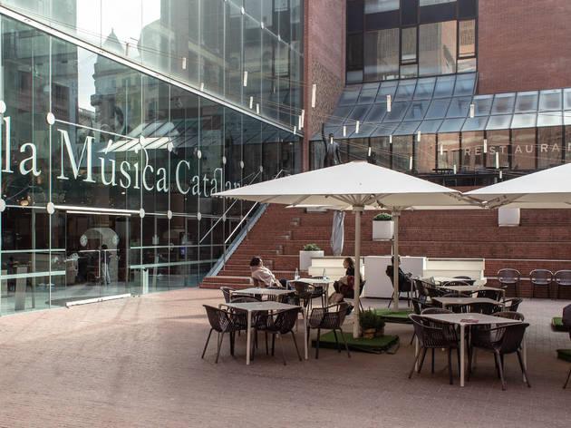 Terrassa  del Palau de la Música