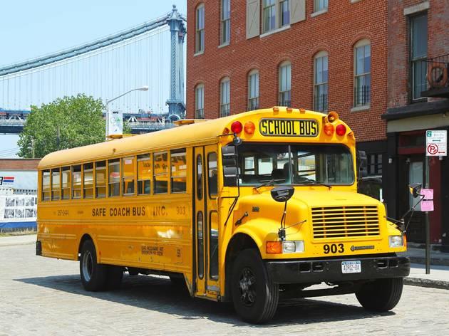 school bus in nyc