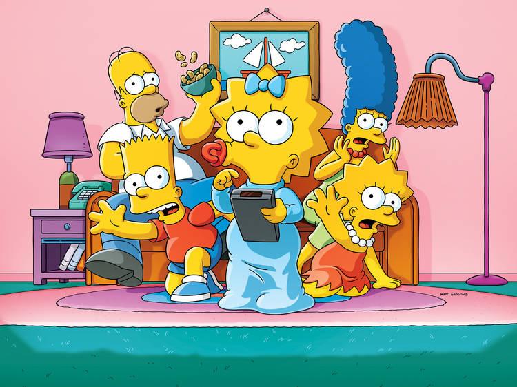 Les Simpson(depuis 1989)