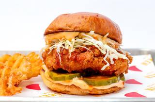 GG's chicken, chicken, fried chicken, sandwich, lee wolen, GG's