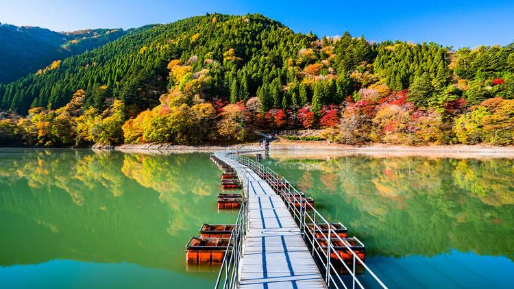 Ogouchi Reservoir Okutama