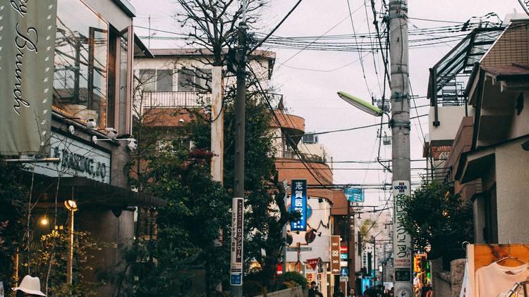 A street in Shimokitazawa