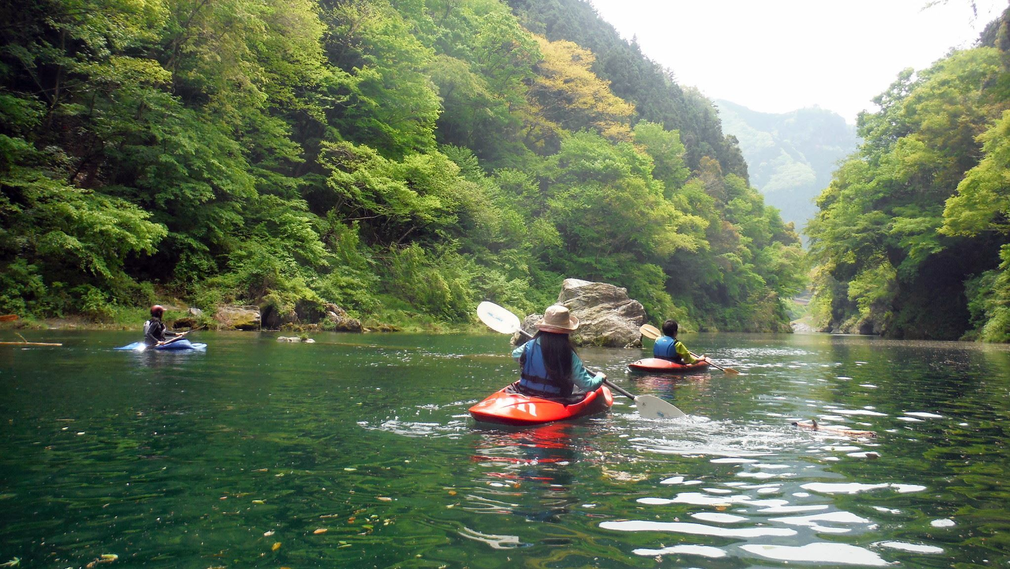 Gravity Kayak Okutama