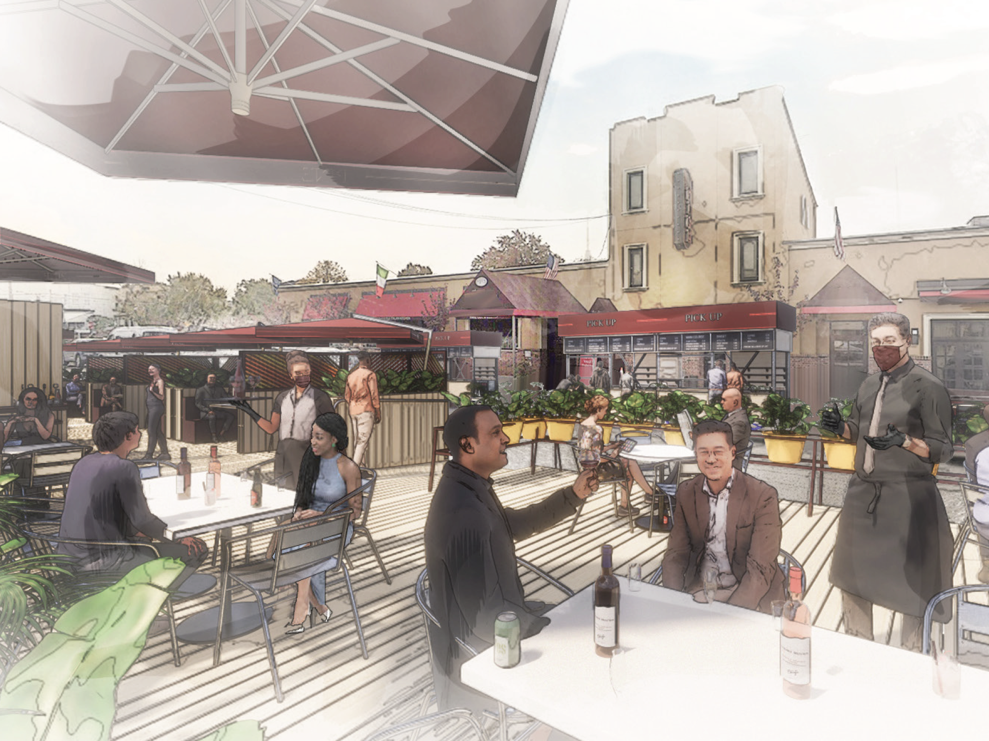 This is what outdoor dining may soon look like in NYC