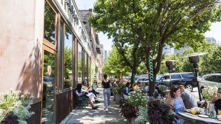 Randolph Street patio dining